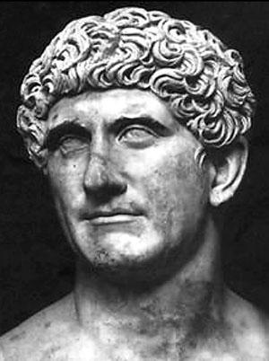 Marcus Antonius_01 - Vatikanische Museen, Rom: Büste von Marcus Antonius (83 – 30 v. Chr.). Foto: Wikipedia