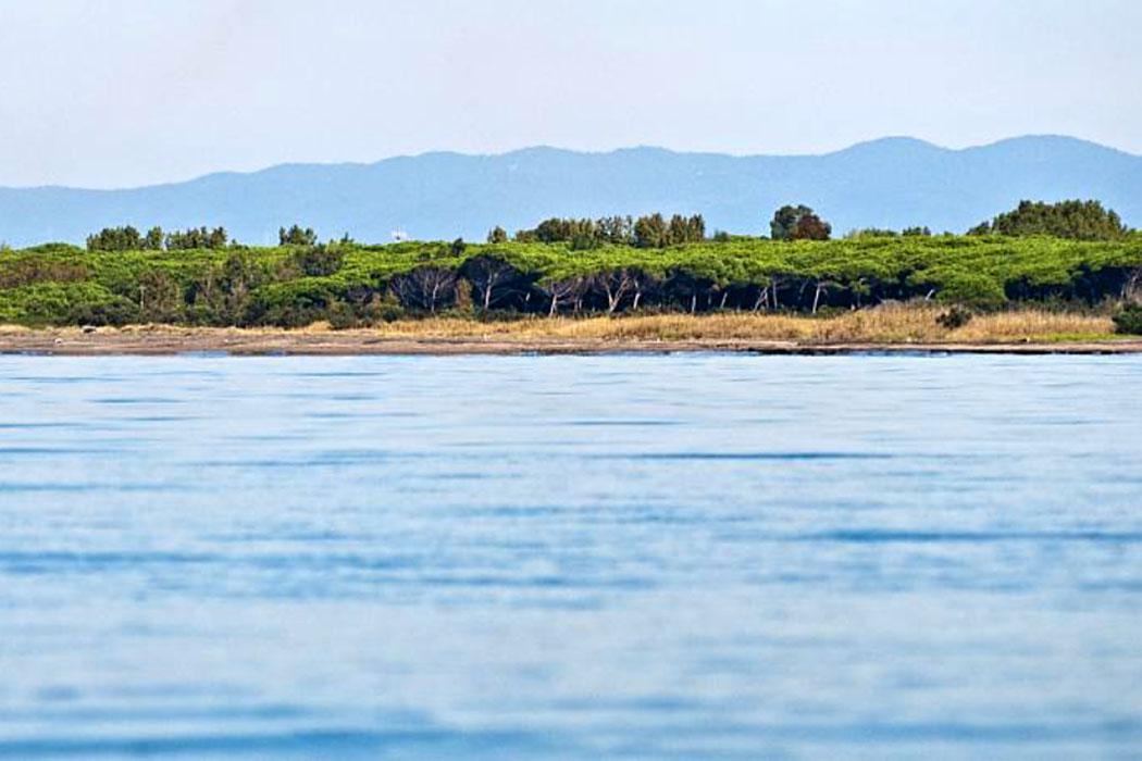 Latium: Die 5 schönsten Strände bei Tarquinia - Tarquinia, Pian di Spille, Riva dei Tarquini - Der schönste Strand bei Tarquinia ist die Küstenlandschaft Pian di Spille an der Riva dei Tarquini.