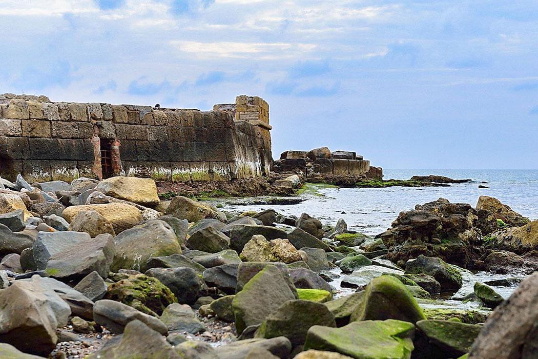 gravisca_etruria_italy_lidoditarquinia Gravisca: Die Fundamente des Hafendocks stammen vermutlich von den Etruskern.
