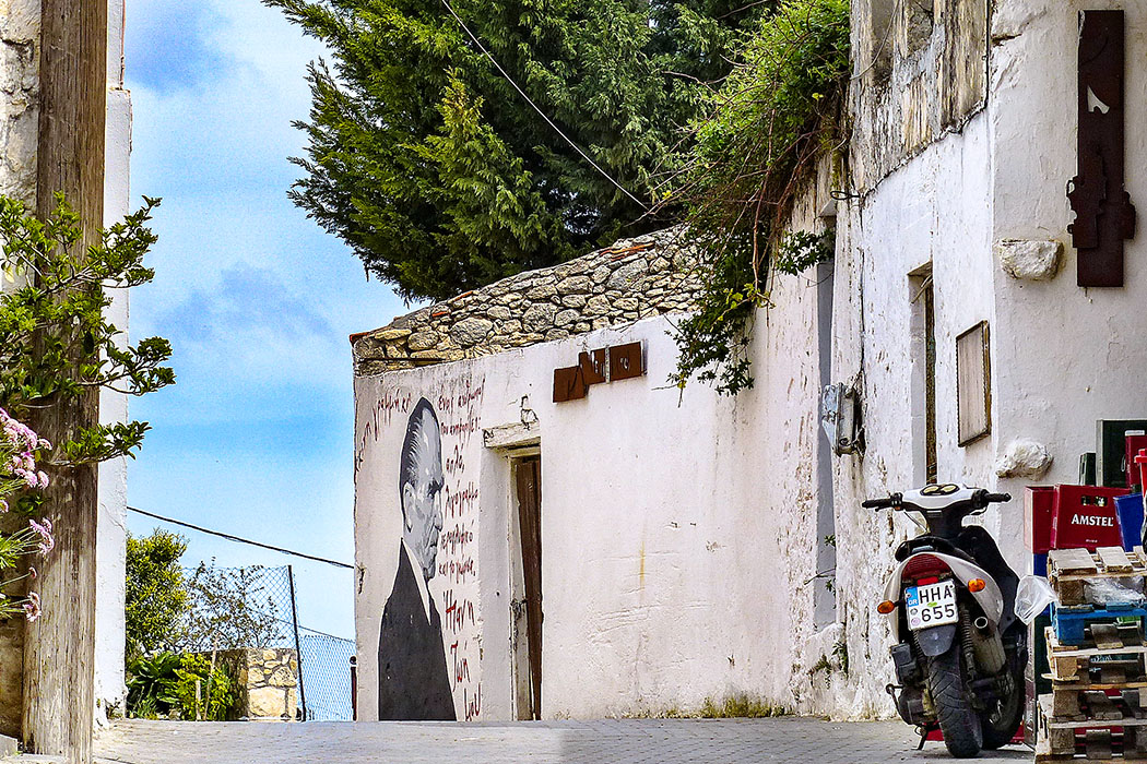 reise-zikaden.de, griechenland, greece, kreta, crete, heraklion, myrtia, nikos kazantzakis, graffiti