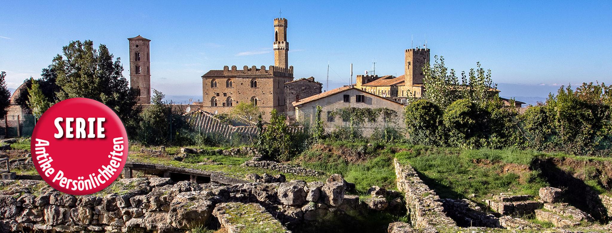 VOLTERRA: Cicero und die Caecinas