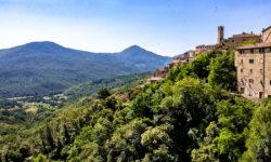 reise-zikaden.de, italy, tuscany, castelnuovo di val di cecina, panorama
