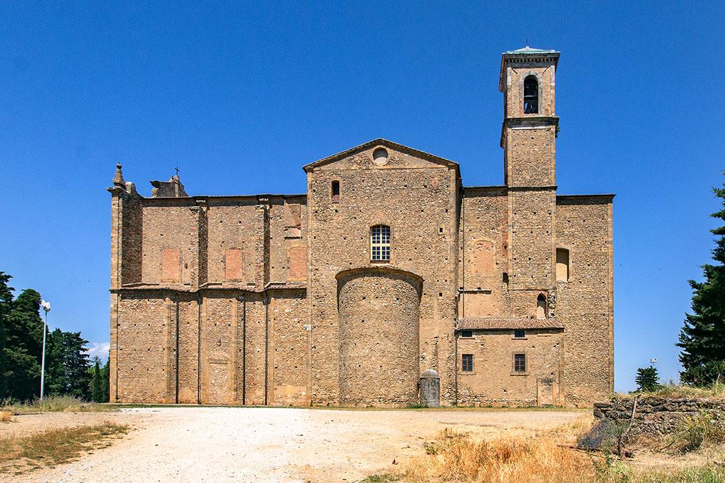 Bei der Architektur von San Giusto Nuovo wurden die Möglichkeiten der Barockkunst zurückhaltend angewendet.