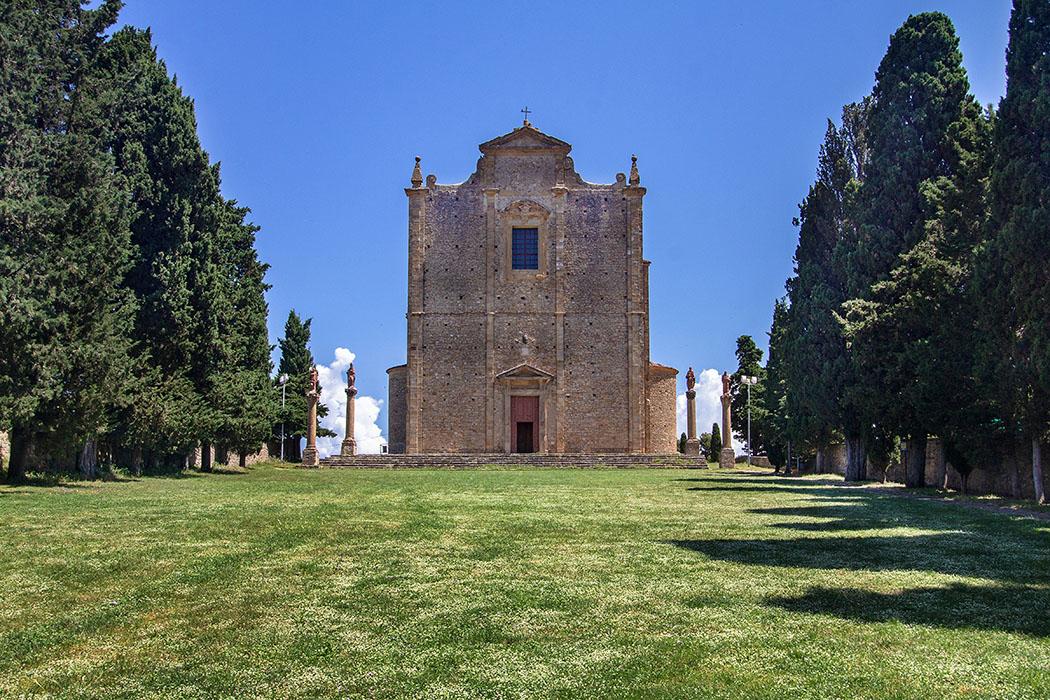 Toskana: Volterra - Die Geschichte von San Giusto und der Badia-Nekropole