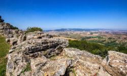 reise-zikaden.de, Italy, Tuscany, Volterra, le balze, etruscan city walls