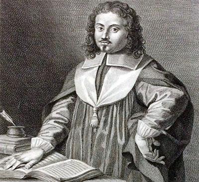 Inghirami, Curzio_ol - Der Archäologe und Historiker Curzio Inghirami(1614-1655) aus Volterra. Quelle: Discorso di Cvrzio Inghirami, 1645