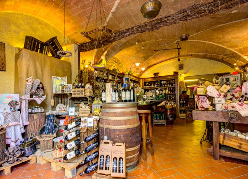 La Cantina di Fabio - Volterra - La Cantina di Fabio im Borgo San Stefano in Volterra.