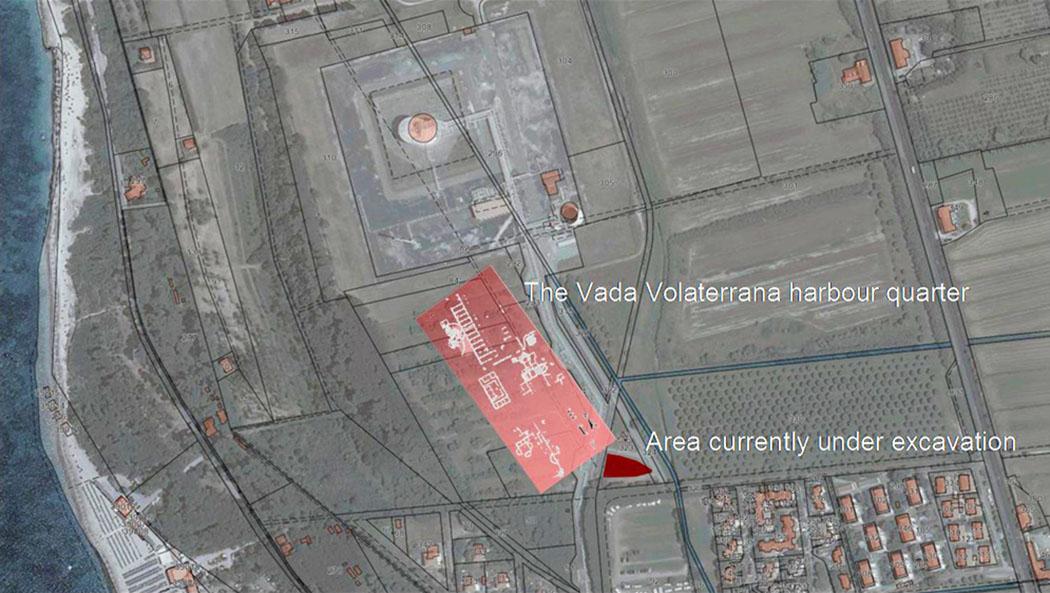 Toskana: Vada Volaterrana – Der antike Hafen von Volterra - Vada Volaterrana - Die Hafenstadt Vada Volaterrana war in der Antike der Haupthafen der etruskischen Metropole Velathri, dem heutigen Volterra in der Toskana.