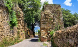 reise-zikaden.de, Italy, Tuscany, Volterra, Porta Diana, Porta Portone, etuscan gate