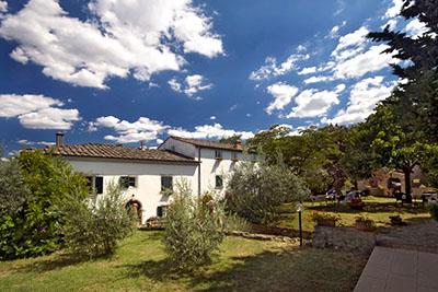 villa_marmini_volterra - Im Garten der Villa Marmini in Volterra. Foto: www.agriturismo-volterra.com