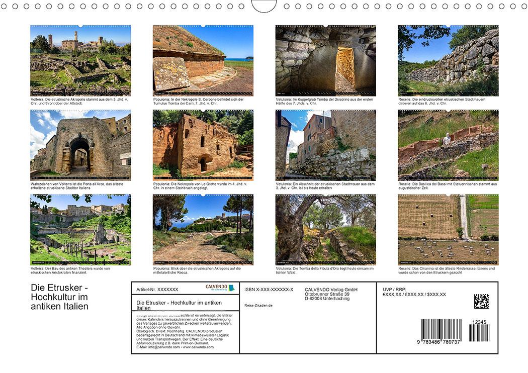 Entdeckungsfahrten in der Toskana: Volterra · Populonia · Vetulonia · Roselle