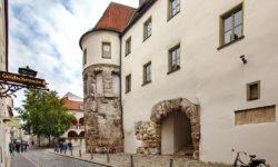 reise-zikaden.de, oberpfalz, regensburg, bayern, donau, castra regina, porta praetoria, antike, roemer
