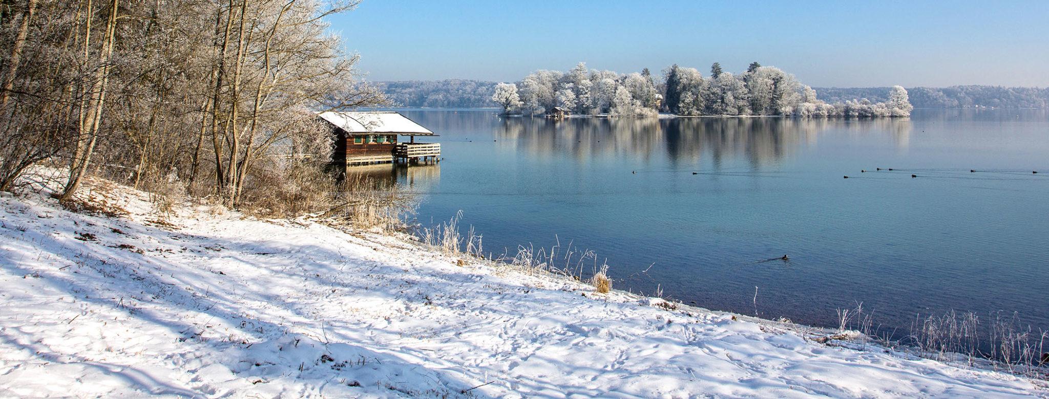 WINTER in MÜNCHEN & Umgebung: 18 Spaziergänge