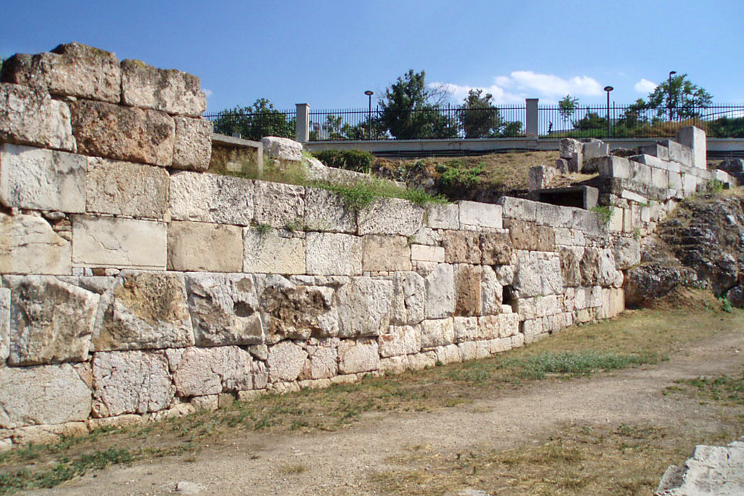 Kerameikos_Athens_Walls of Themistocles-