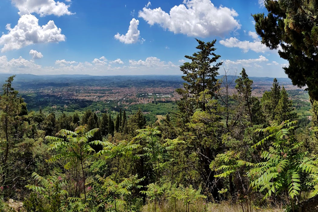 Montececeri Den Monte Ceceri bei Fiesole nutzte schon Leonardo da Vinci für seine Versuche mit Fluggeräten. Heute ist der Berg ideal für eine Wanderung durch Zypressenwälder und zu mittelalterlichen Steinbrüchen.