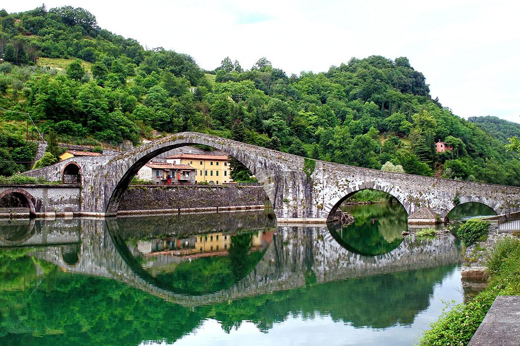 Ponte della Maddalena_Borgo a Mozzano_Michael Bertulat