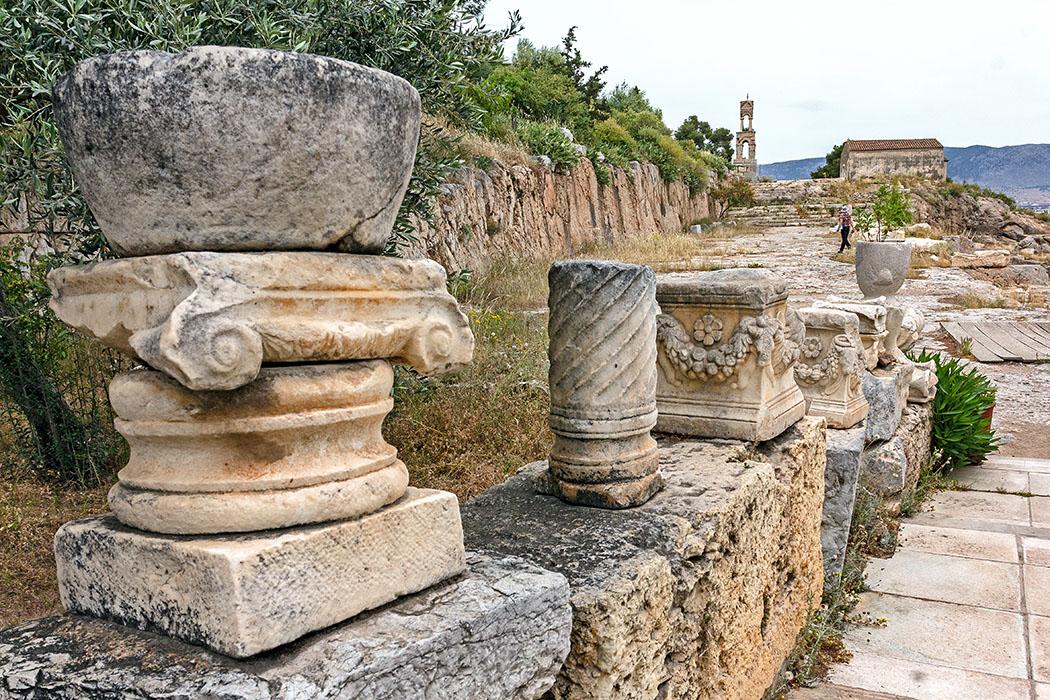 Griechenland: Attika – Eleusis und der Mysterienkult im Demeter-Heiligtum reise-zikaden.de, greece, attica, eleusis, elefsina, Telesterion
