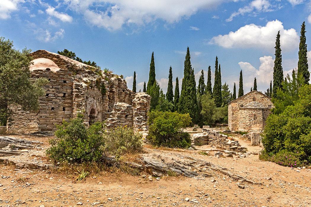 Griechenland: Attika - 14 Sehenswürdigkeiten plus Extra-Tipps reise-zikaden.de, greece, attica, Athen, Kloster Kesariani, Hymettos, Agios Markos, Frangomonastiro