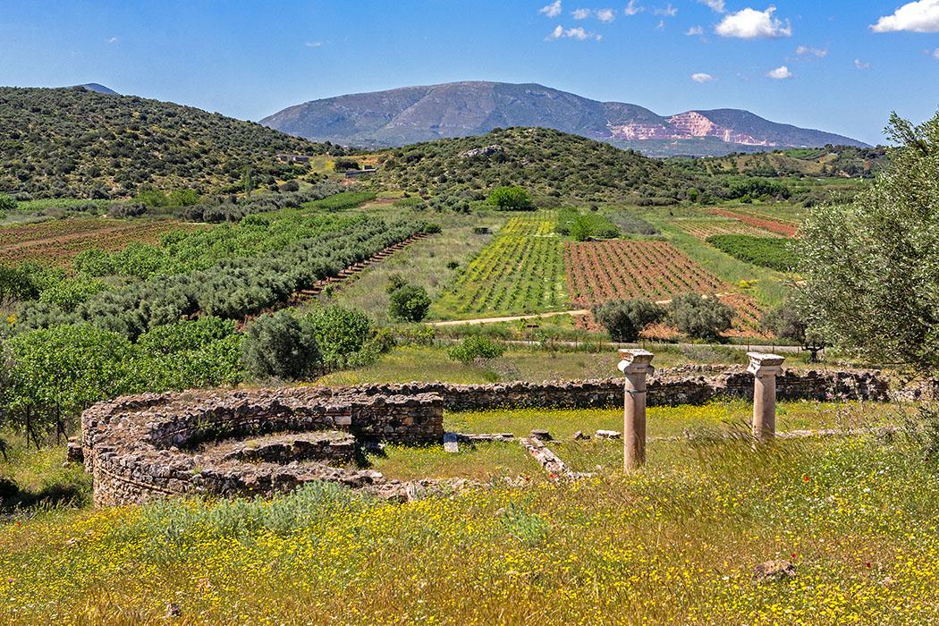 Griechenland: Attika - 14 Sehenswürdigkeiten plus Extra-Tipps reise-zikaden.de, greece, attica, Markopoulo Mesogaias, vravrona, brauron, frühchristliche baslika
