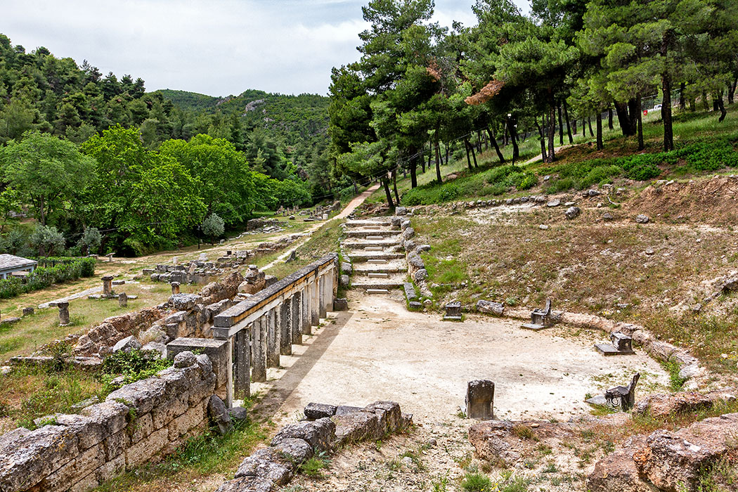 Griechenland: Attika - 14 Sehenswürdigkeiten plus Extra-Tipps reise-zikaden.de, greece, attica, Markopoulo Oropou, Amphiareion von Oropos, Theater
