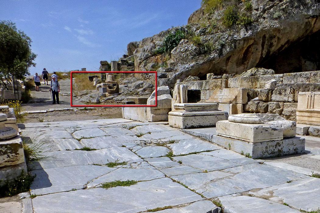 Griechenland: Attika – Eleusis und der Mysterienkult im Demeter-Heiligtum reise-zikaden.de, greece, attica, eleusis, elefsina, Agelastos p