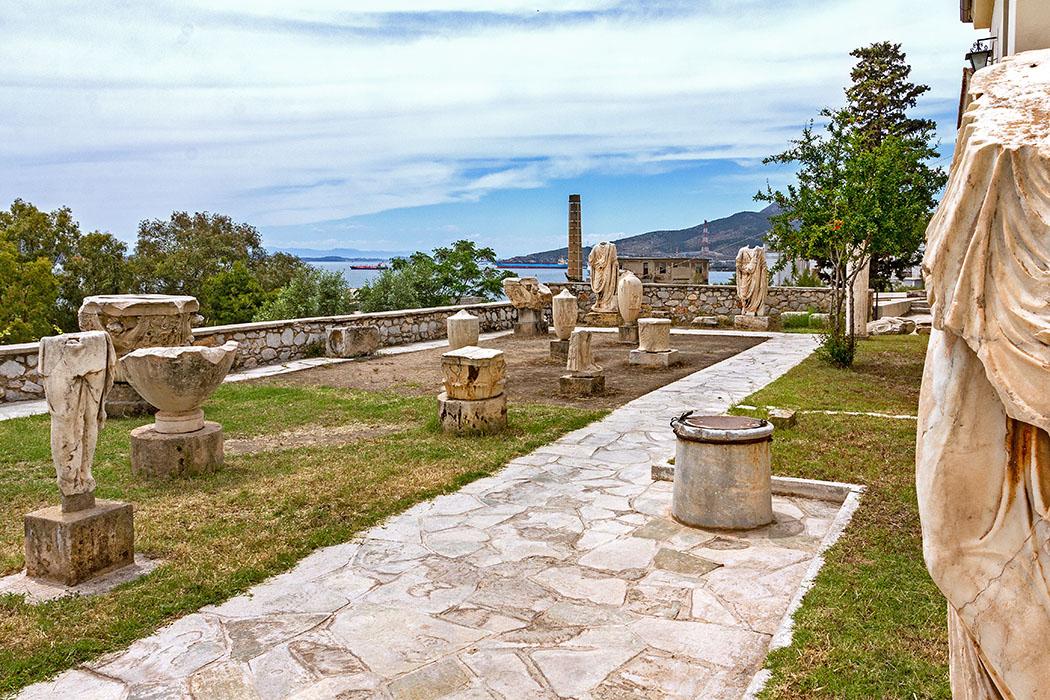 Griechenland: Attika – Eleusis und der Mysterienkult im Demeter-Heiligtum reise-zikaden.de, greece, attica, eleusis, elefsina, museum, ter