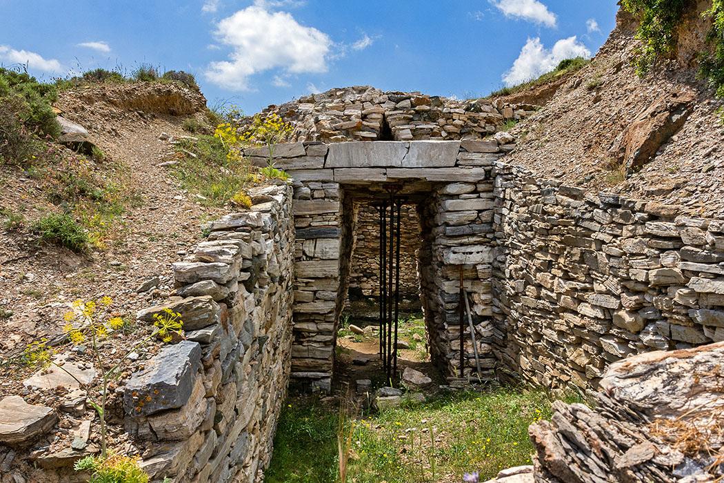 Griechenland: Attika - 14 Sehenswürdigkeiten plus Extra-Tipps reise-zikaden.de, greece, attica, lavrion, laurion, thorikos, mykenischer tholos, velatouri