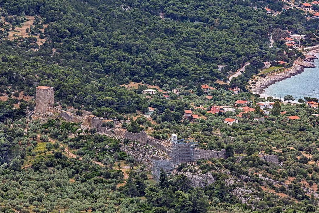 Griechenland: Attika - 14 Sehenswürdigkeiten plus Extra-Tipps reise-zikaden.de, greece, attica, porto germeno, aigosthena, panorama