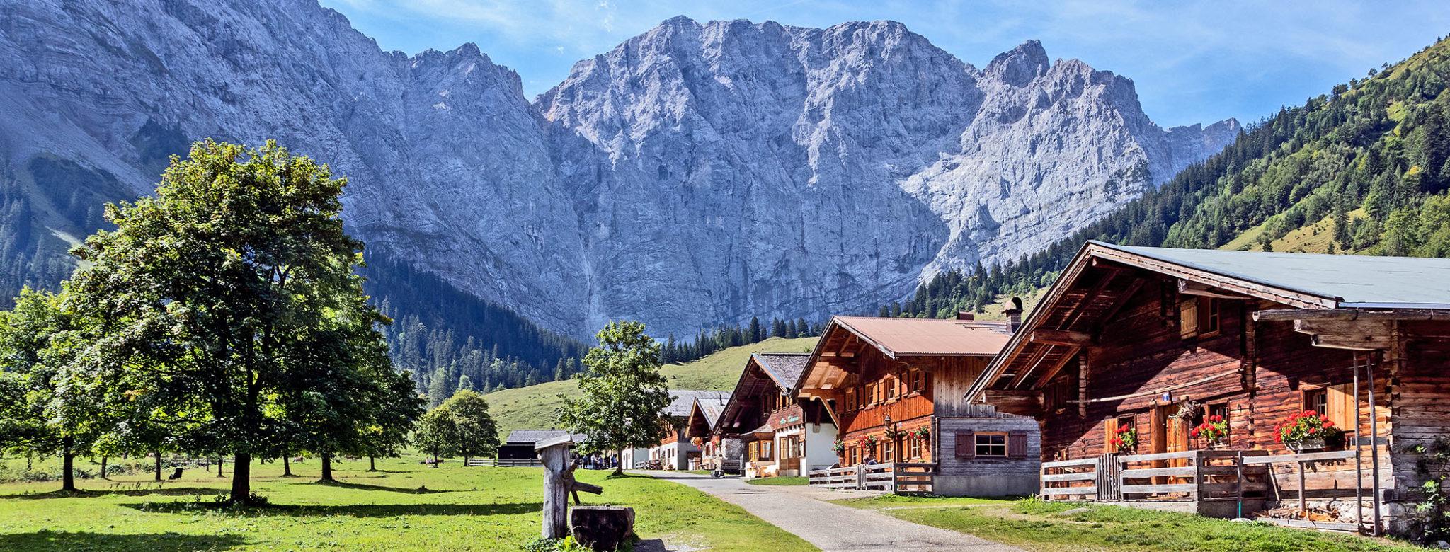 TIROL: Ausflug zum Ahornboden & Eng Alm im Karwendel