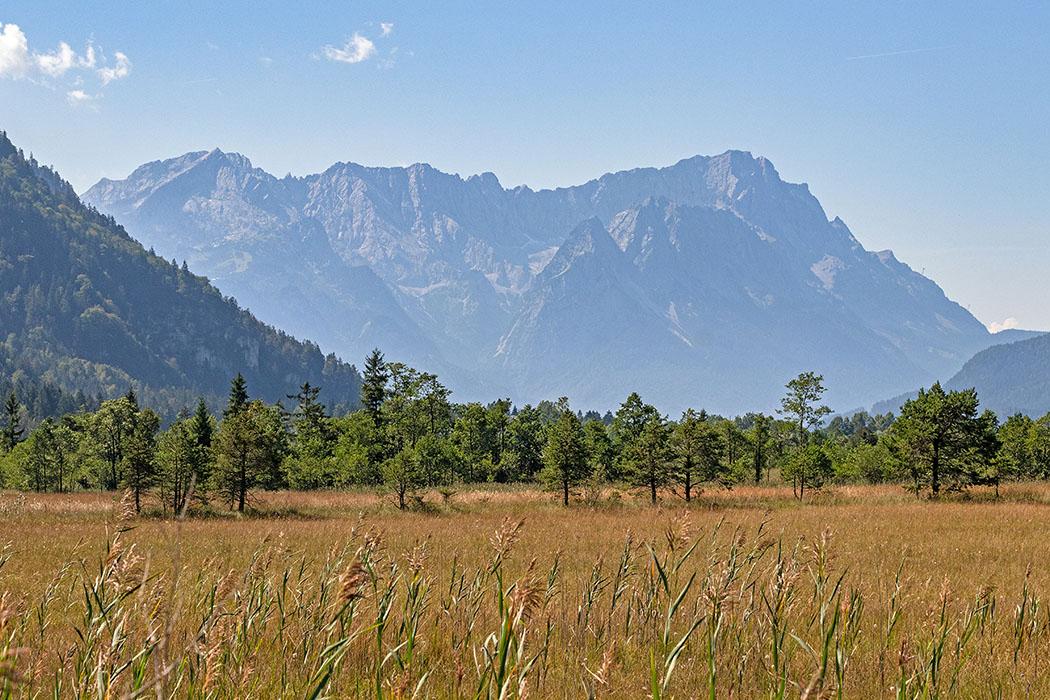 Oberbayern, Werdenfelser Land: Eschenlohe – Das Pfrühlmoos und die Sieben Quellen