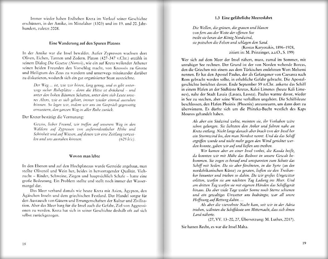 Buchtipp: Kreta - Die Insel der Mythen im Spiegel antiker Zeugnisse, von Kurt Roeske Kreta - Die Insel der Mythen im Spiegel antiker Zeugnisse_innenseiten-01_ol