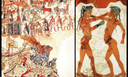 reise-zikaden.de, Bronzezeit auf Kreta: Krieger-Ideologien und Waffen der Minoer