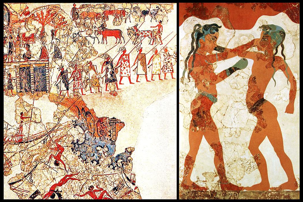 Bronzezeit auf Kreta: Krieger-Ideologien und Waffen der Minoer