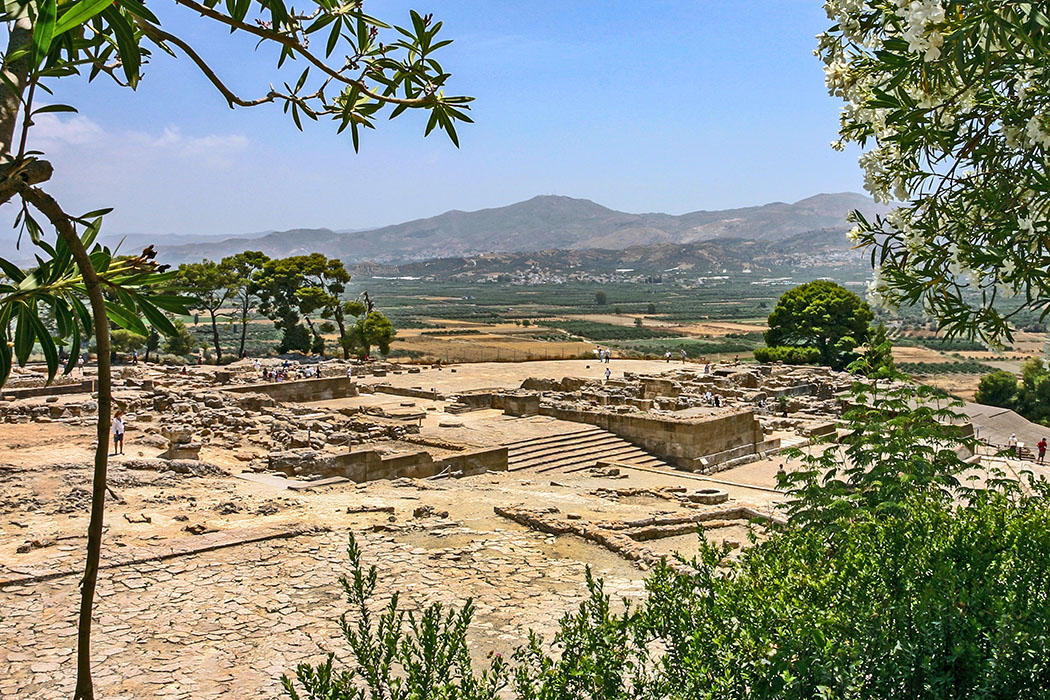 Bronzezeit auf Kreta: Die Paläste der Minoer waren Basis ihrer Städte