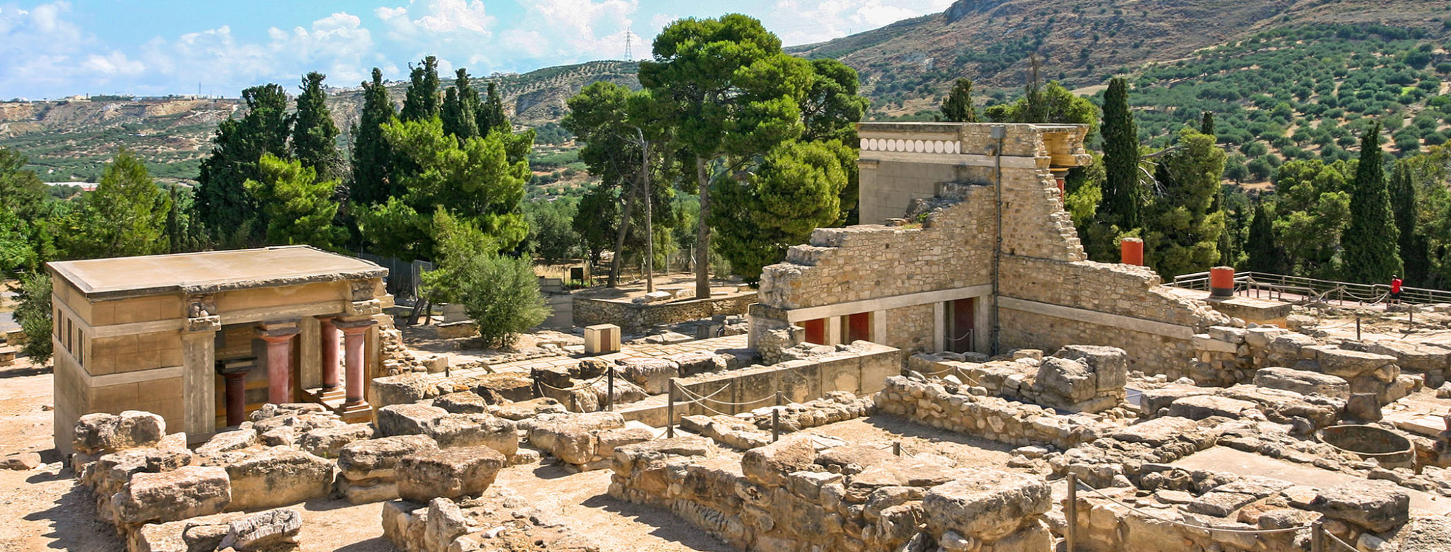 Bronzezeit auf KRETA: Europas erste Stadt bauten Minoer