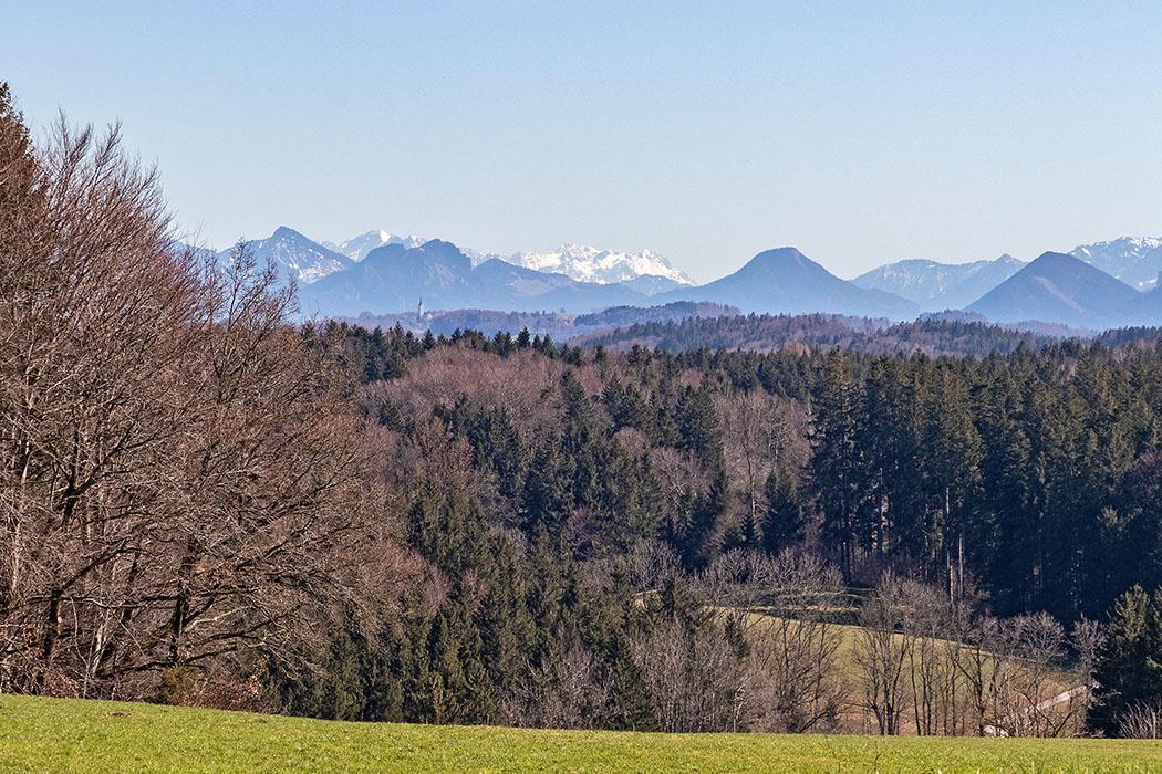 reise-zikaden.de, Die Kelten in Bayern - Das Oppidum Fentbach-Schanze bei Weyarn, irschenberg, kaisergebirge