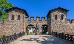 reise-zikaden.de, Hessen: Ausflug zum Römerkastell Saalburg bei Bad Homburg, Porta Praetoria