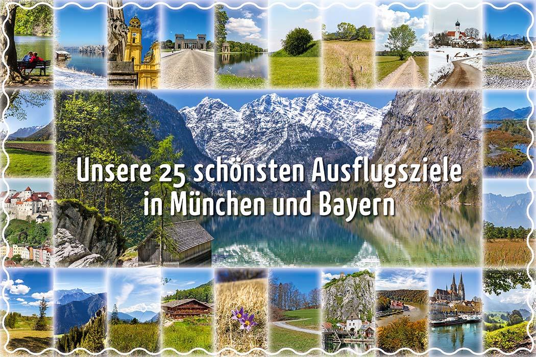 reise-zikaden.de, Unsere 25 schönsten Ausflugsziele in München Bayern ist eine der schönsten Regionen Deutschlands und bietet eine phantastische Vielfalt an Ausflugsmöglichkeiten und Reisezielen. Unsere 25 schönsten Ausflugsziele in München und Bayern haben wir kompakt zusammengestellt. Fotos: Reise-Zikaden, M. Hoffmann, Burghauser Touristik GmbH