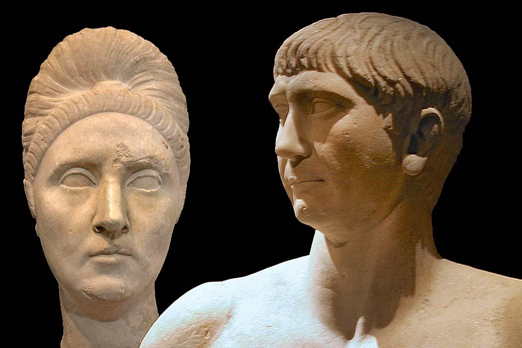 Kaiser Hadrian: Kindheit und Jugend des zukünftigen Imperators plotona_trajan_ol Die Adoptiveltern von Hadrian und seiner Schwester Domitia Paulina waren Pompeia Plotina (zwischen 62 und 72 – 123) und Marcus Ulpius Traianus (52 – 117), der spätere Kaiser Trajan. Fotos: Wikipedia, M. Almbauer, M. H. Cuesta