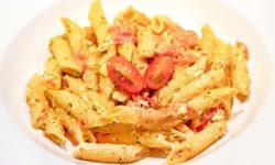 reise-zikaden.de, Foodtrend, Pasta mit Kirschtomaten und Feta – Baked Feta Pasta